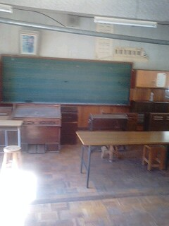 旧木沢小学校の音楽室