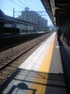 JR広丘駅にて