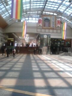 JR長野駅にて