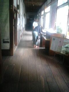 一方旧木沢小学校では…