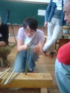 竹の伐採作業そして…