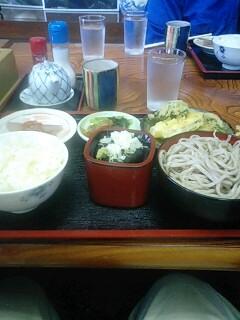 はんば亭で昼食
