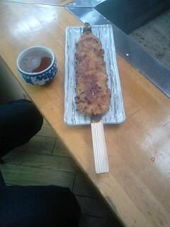大きい五平餅