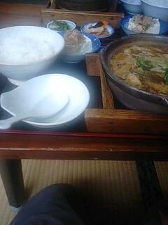 再び福島麺類食堂へ