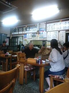 冨士尾山荘で昼食