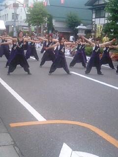 YOSAKOI(よさこい)盛り上がり