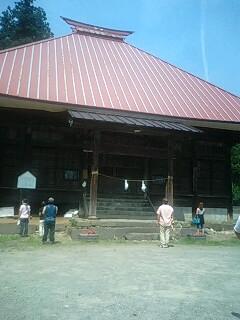 小菅神社の杉並木