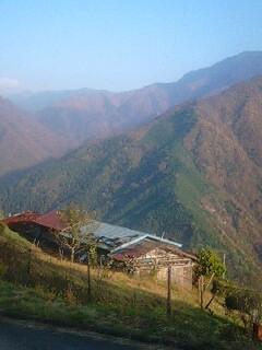 遠山郷の紅葉‥しらびそ峠と下栗の里