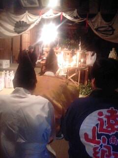 熊野神社霜月祭り1