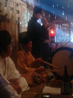 熊野神社霜月祭り2