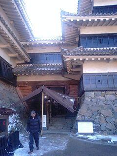 国宝松本城へ