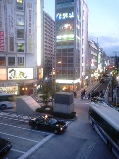 小田原駅にて