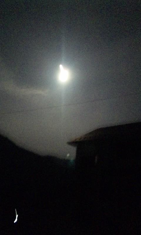 木沢の月の光