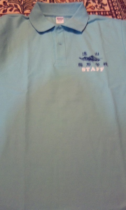 スタッフポロシャツ
