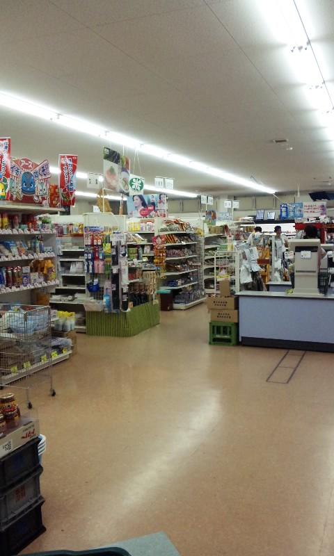 遠山郷のスーパーマーケット
