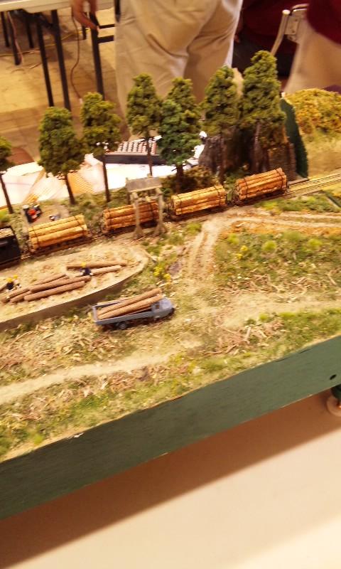 鉄道模型ジオラマ公開運転会