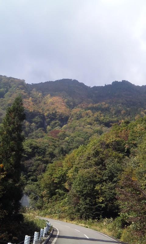 一年ぶりの秋山郷