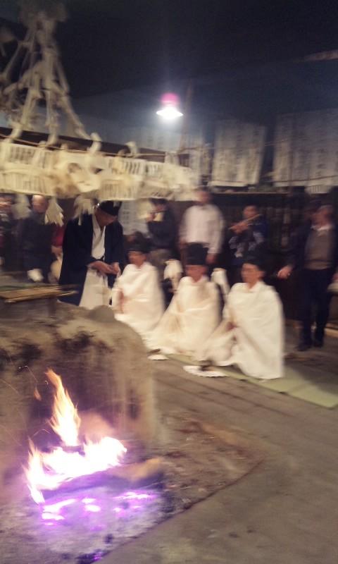 木沢正八幡神社霜月祭1