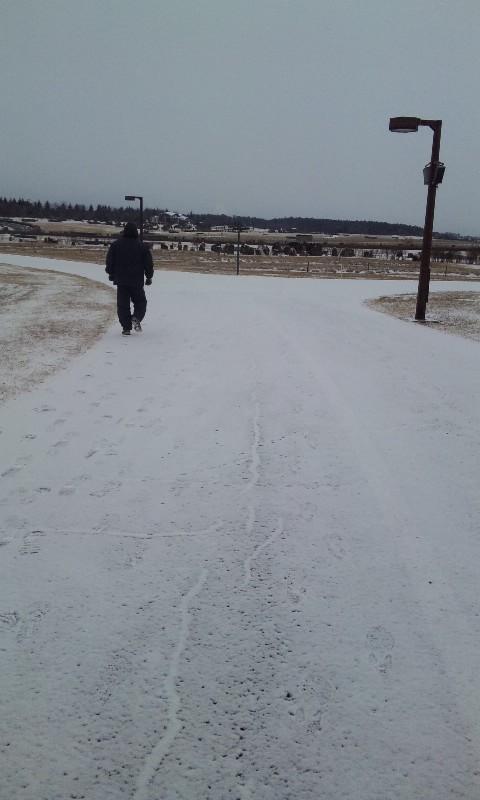 雪のトレーニング