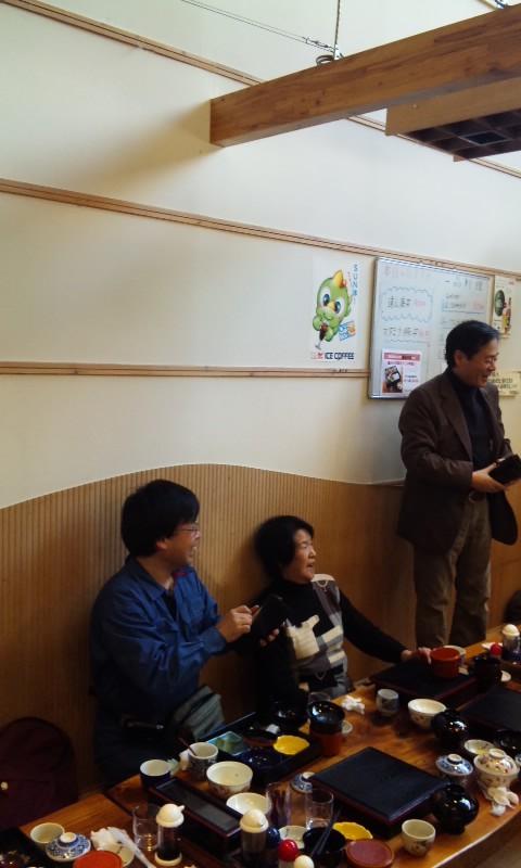 今年最初の遠山藤原学校