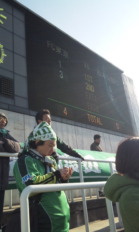 10098人のサポーターと選手達の絆