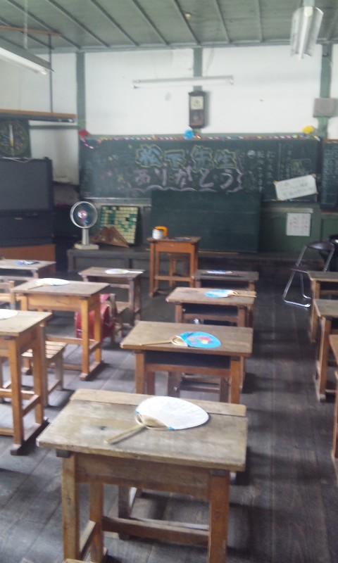 7月の遠山藤原学校