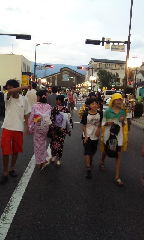 広丘夏祭り