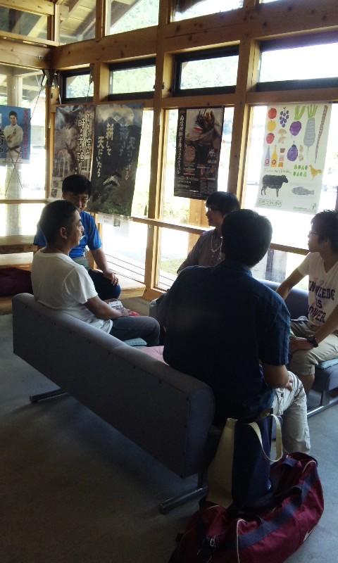 8月の遠山藤原学校
