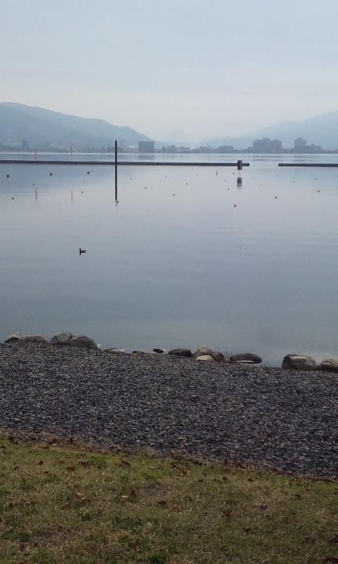 久々の諏訪湖一周ランニング