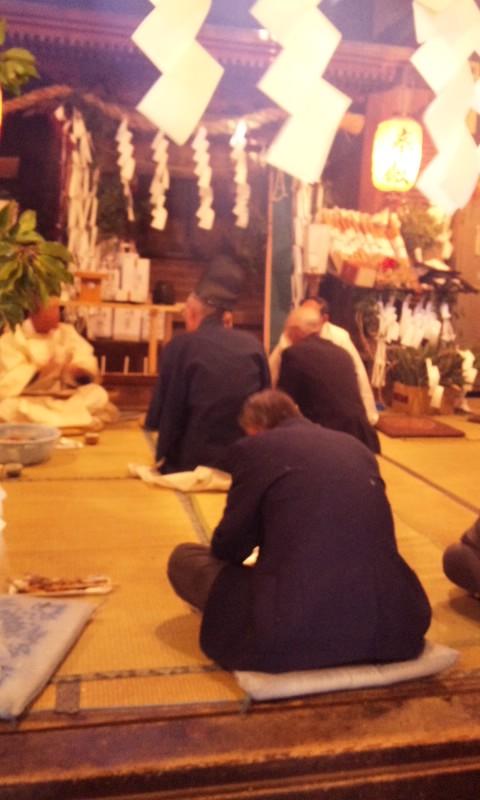 木沢正八幡神社霜月祭り