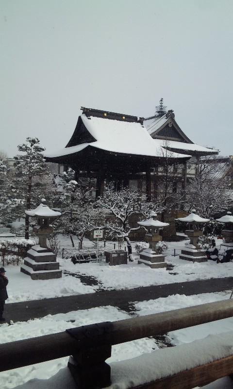 今年最初の善光寺