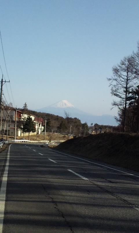 南アルプスと八ヶ岳と富士山
