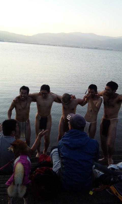感動の諏訪湖