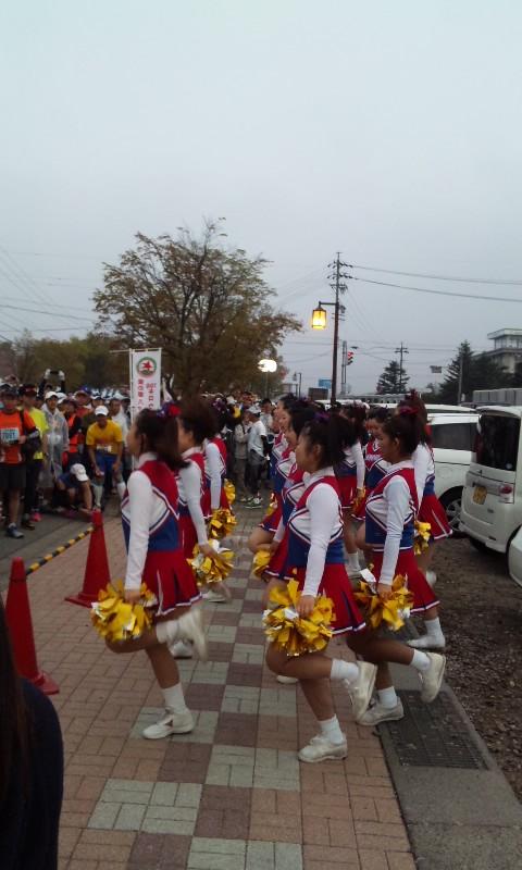 マラソン当日
