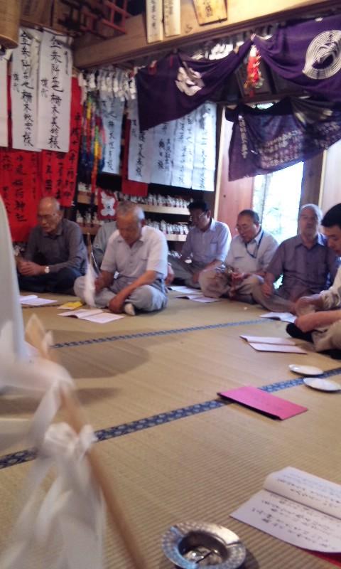 小嵐稲荷神社夏の例大祭